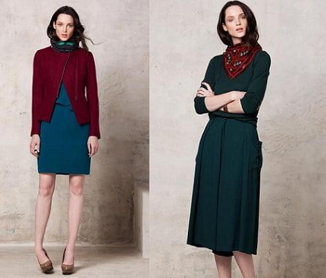 catálogo adolfo domínguez otoño invierno 2012 2013 vestidos