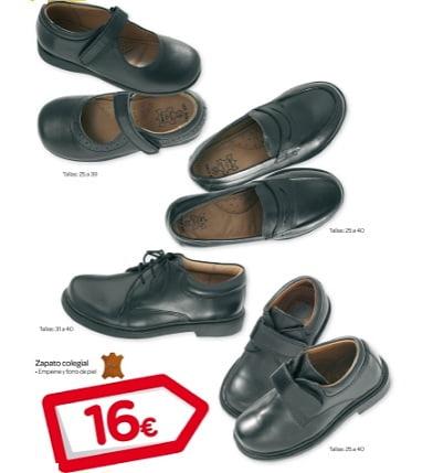 catalogo carrefour vuelta al cole zapatos