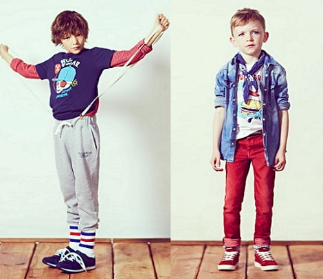 catalogo pull and bear ninos invierno 2013 chandal